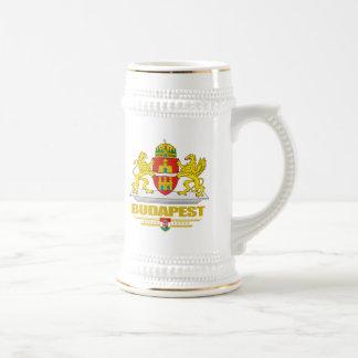 COA de Budapest Jarra De Cerveza