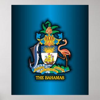 COA de Commonwealth de las Bahamas Impresiones