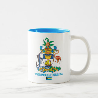 COA de Commonwealth de las Bahamas Taza De Dos Tonos