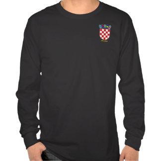 COA de Croacia Camisetas