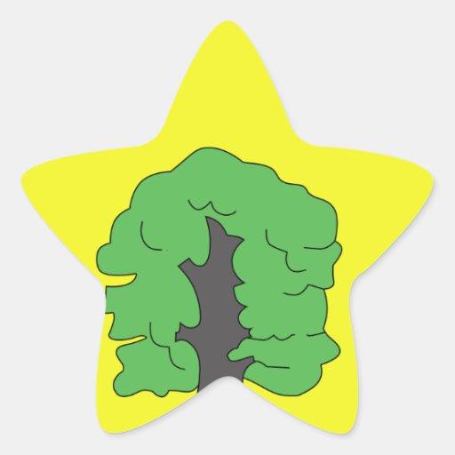 CoA de Dalovice CZ Calcomania Forma De Estrella Personalizadas
