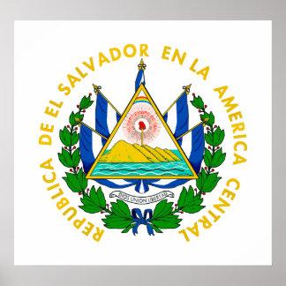 COA de El Salvador Póster