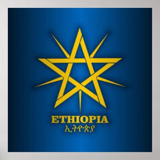 COA de Etiopía Póster