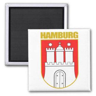 COA de Hamburgo Imán Cuadrado
