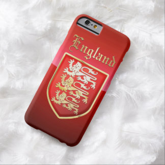 CoA de Inglaterra Funda De iPhone 6 Barely There