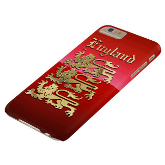 CoA de Inglaterra Funda Barely There iPhone 6 Plus