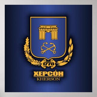 COA de Kherson Póster