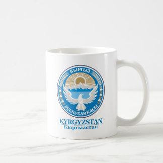 COA de Kirguistán Taza De Café