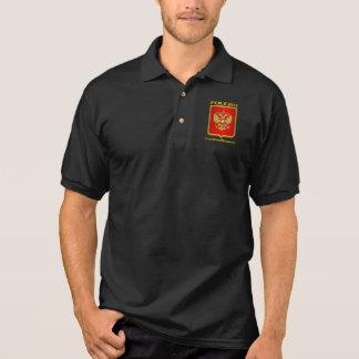COA de la Federación Rusa Polo Camiseta