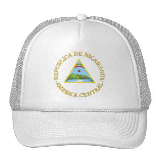 COA de Nicaragua Gorros Bordados