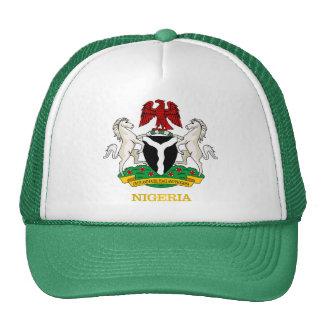 COA de Nigeria Gorros Bordados