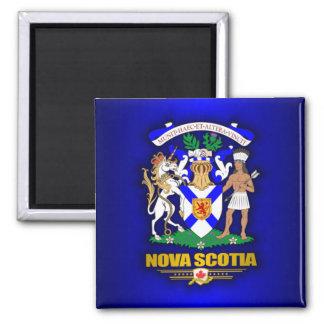 COA de Nueva Escocia Imán De Frigorifico