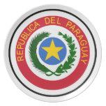 """COA de Paraguay "" Plato De Cena"
