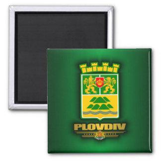 COA de Plovdiv Imán Cuadrado