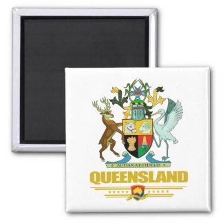 COA de Queensland Imán Cuadrado