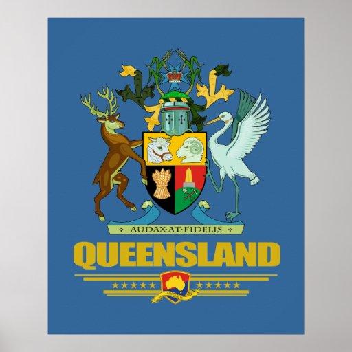 COA de Queensland Póster