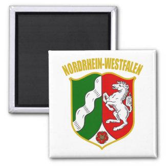 COA de Renania del Norte-Westfalia Imán Cuadrado
