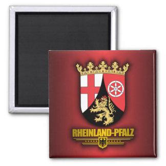 COA de Renania-Palatinado Imán Cuadrado