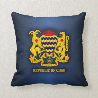 COA de República eo Tchad Cojín Decorativo