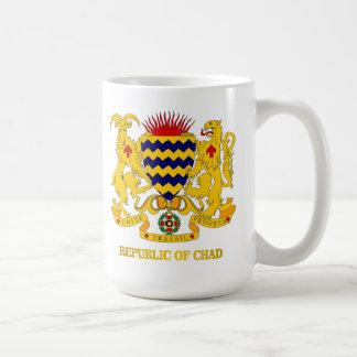 COA de República eo Tchad Taza De Café