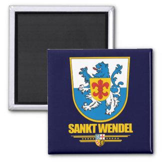 COA de Sankt Wendel Kreis Imán Cuadrado