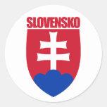 COA de Slovensko/de Eslovaquia Pegatina