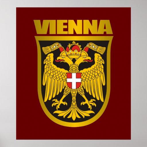 COA de Viena (siglo XIX) Póster