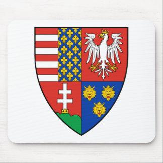 Coa_Hungary_Country_History_Lajos_I_(1370) Mouse Pad