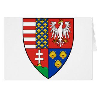 Coa_Hungary_Country_History_Lajos_I_ (1370) Tarjeta De Felicitación