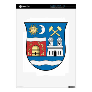 Coa_Hungary_County_Nógrád_ (historia) _v2 (2) Calcomanía Para El iPad 2