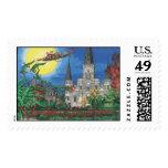 COA Jackson Sq Lg Postage Stamp