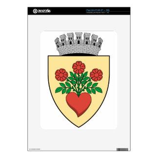 Coa_Romania_Town_Csíkszereda Calcomanías Para iPad