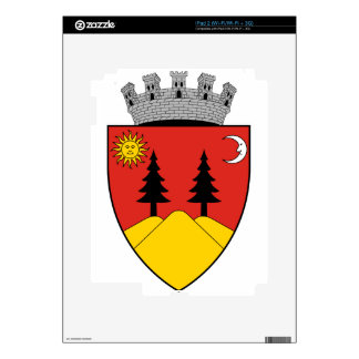 Coa_Romania_Town_Falticsén iPad 2 Calcomanía
