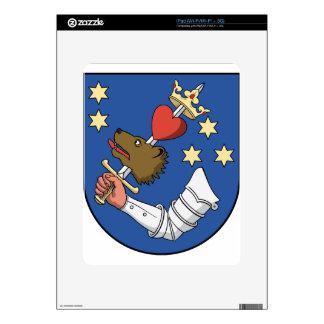 Coa_Romania_Town_Székelyudvarhely iPad Calcomanías