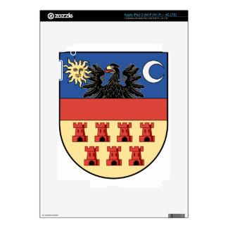 Coa_Transylvania_Country_History_v2 iPad 3 Pegatina Skin