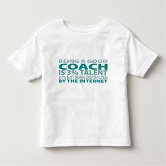 Coach 3% Talent Toddler T-shirt