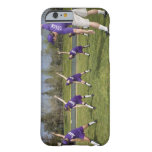 Coach and little league players stretching barely there iPhone 6 case