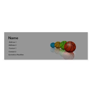 Coach/Athletics Director Business Card