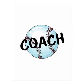 Coach (Baseball) Postcard