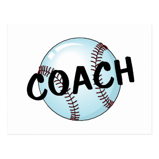 Coach (Baseball) Postcards