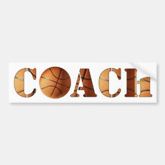 COACH (Basketball) Bumper Sticker