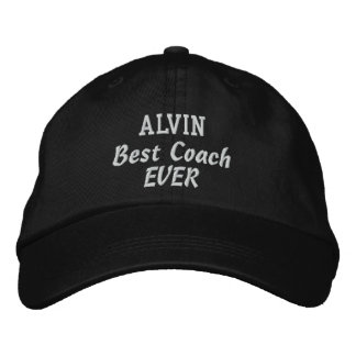 COACH Best Coach Ever Custom Name V02 Baseball Cap