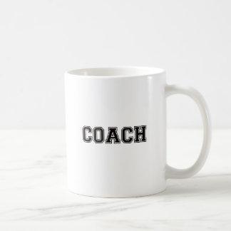 Coach Black Font Coffee Mug