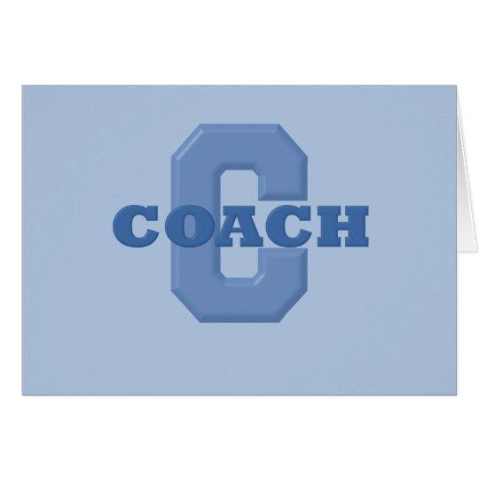 COACH (Blue) Card