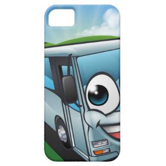 Coach Bus Cartoon Character Mascot Scene iPhone SE/5/5s Case