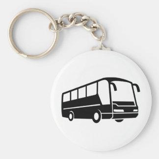 Coach bus keychain