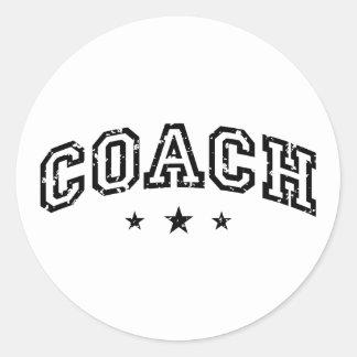 Coach Classic Round Sticker
