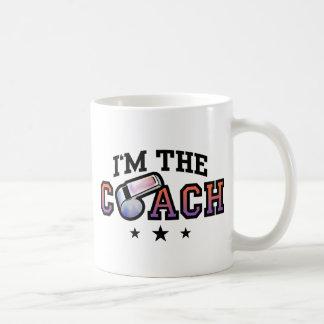 Coach Classic White Coffee Mug