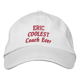 COACH Coolest Coach Custom Name Embroidered Hat
