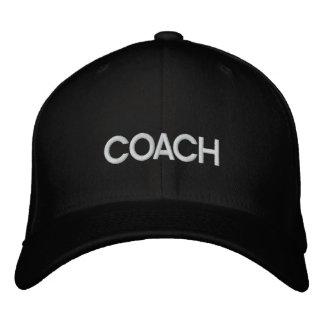 COACH EMBROIDERED BASEBALL CAP